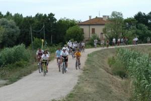 sentieri bici fiume uso